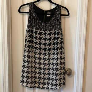 CAbi broken check top (houndstooth) - size Large
